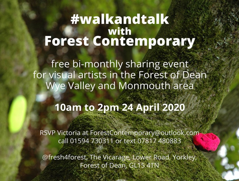 April #walkandtalk with Forest Contemporary